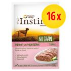 True Instinct No Grain Medium/Maxi Adult Terrina 16 x 300 g