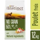 True Instinct No Grain Medium-Maxi poulet pour chien