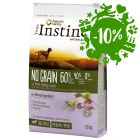 True Instinct No Grain Tacchino e Piselli