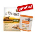 True Instinct comida húmeda + 600 g pienso Nature's Variety ¡gratis!