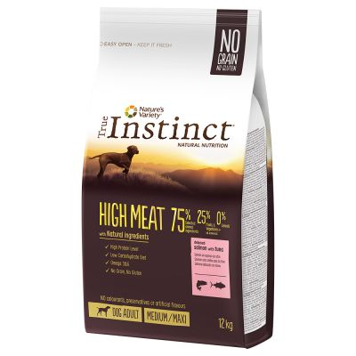 True Instinct Dog High Meat Medium/Maxi Zalm en Tonijn