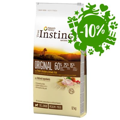 True Instinct Dog Original Junior Medium-Maxi