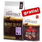 True Instinct Droogvoer + True Instinct Tasty Cubes gratis!
