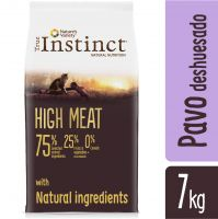 True Instinct High Meat Adult con pavo deshuesado y pato