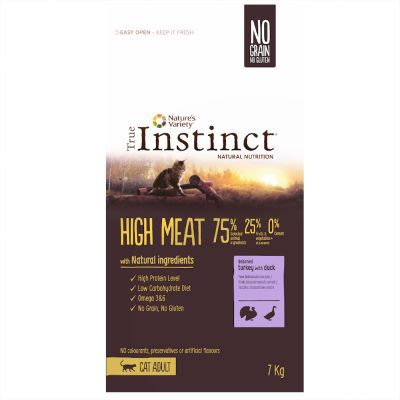 True Instinct High Meat Adult dinde, canard