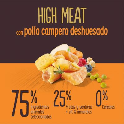 True Instinct High Meat con pollo campero deshuesado