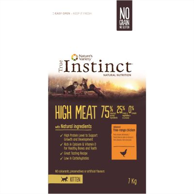 True Instinct High Meat Kitten poulet