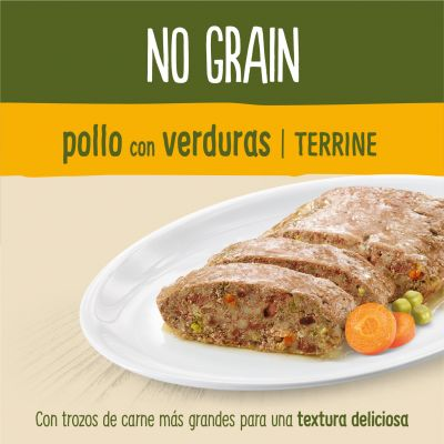 True Instinct No Grain Medium/Maxi Adult Terrina 8 x 300 g