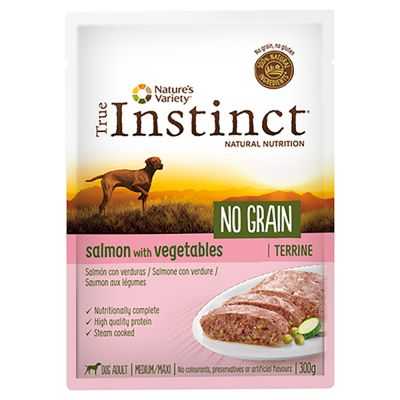 True Instinct No Grain Medium/Maxi Adult Terrine 8 x 300 g