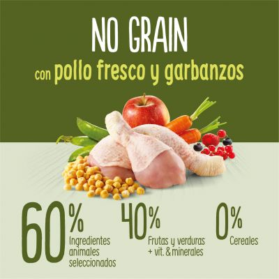 True Instinct No Grain Medium-Maxi con pollo