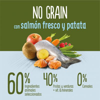 True Instinct No Grain Medium-Maxi con salmón