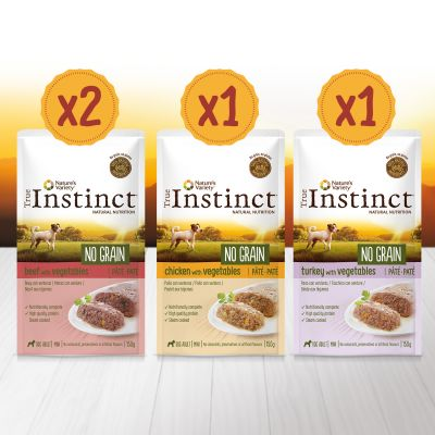 True Instinct No Grain Mini Multipack