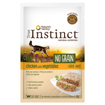 True Instinct No Grain Patê 16 x 70 g para gatos - Pack económico
