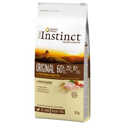 True Instinct Original Junior Medium-Maxi con pollo