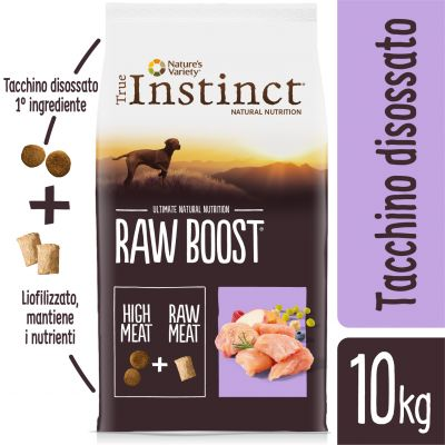True Instinct Raw Boost Tacchino