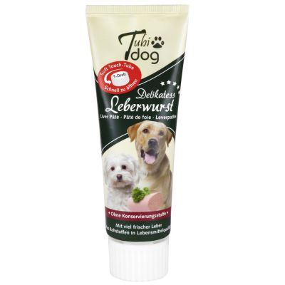 Tubidog Liver Sausage in a tube