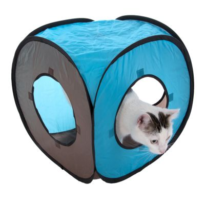 Tunnel gioco per gatti Connect 2in1