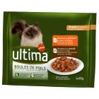Ultima Cat Hairball, poulet & dinde