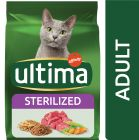 Ultima Cat Sterilized Manzo