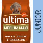 Ultima Medium-Maxi Junior con pollo