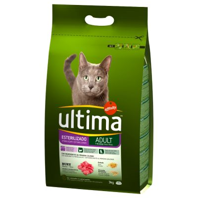 Ultima Adult Sterilised – Beef & Barley