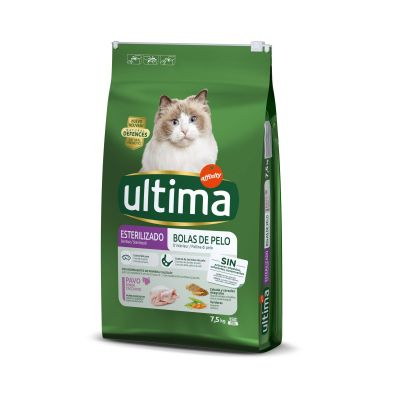 Ultima Cat Sterilized Hairball Kattenvoer