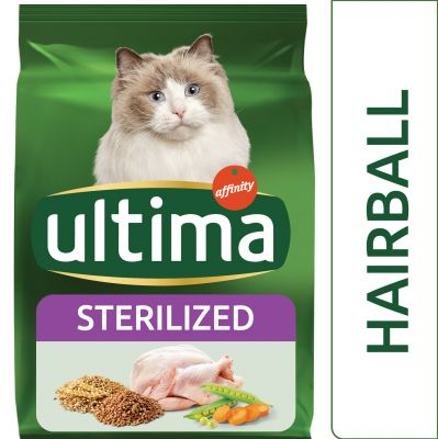 Ultima Cat Sterilized Palline di Pelo