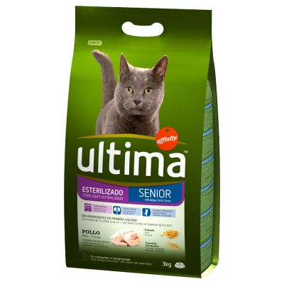 Ultima Cat Sterilized Senior Kattenvoer
