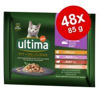 Ultima Cat Sterilized 48 x 85 g Alimento umido per gatti