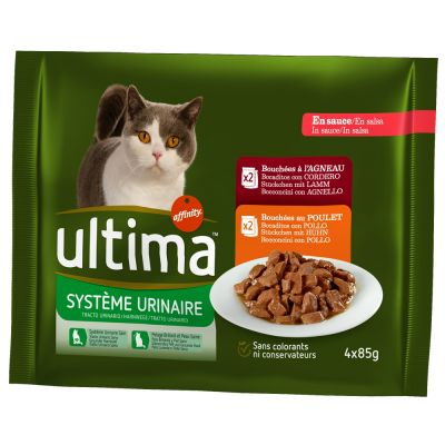 Ultima Cat Urinary, poulet & agneau