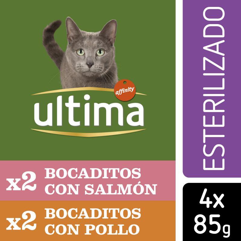 Ultima Esterilizado Adult comida húmeda para gatos