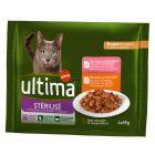 Ultima Esterilizado Adulto comida húmida para gatos