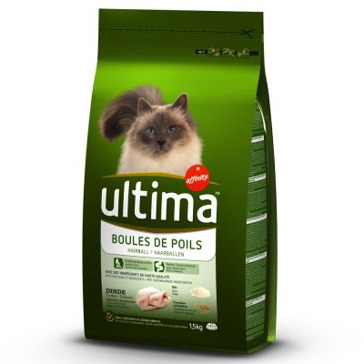 Ultima Hairball Control - Turkey & Rice