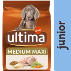 Ultima Medium / Maxi Junior poulet pour chien