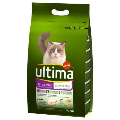 Ultima Sterilised Hairball – Turkey & Barley