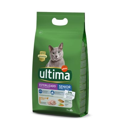 Ultima Sterilised Senior – Chicken