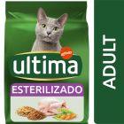 Ultima Sterilized Adult com frango para gatos