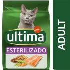 Ultima Sterilized Adult com salmão para gatos