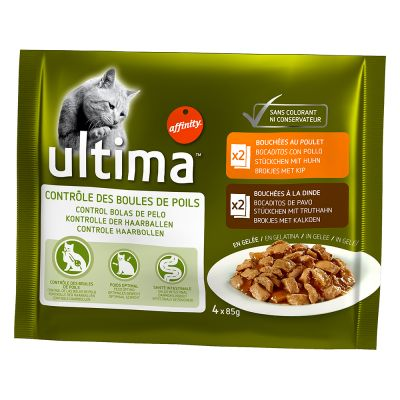 Ultima Wet Cat Food Saver Pack 24 x 85g