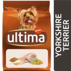 Ultima Yorkshire Terrier Adult poulet pour chien