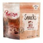 Und für zwischendurch: Purizon Snack Rind & Huhn - getreidefrei
