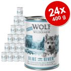 Varčno pakiranje Little Wolf of Wilderness Junior 24 x 400 g