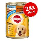 Varčno pakiranje Pedigree Junior Classic 24 x 400 g