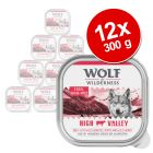 Varčno pakiranje Wolf of Wilderness Adult 12 x 300 g