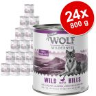 Varčno pakiranje Wolf of Wilderness Senior 24 x 800 g