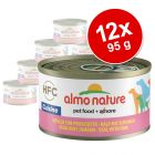 Varčno pakiranje Almo Nature HFC 12 x 95 g