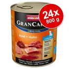 Varčno pakiranje Animonda GranCarno Original Junior 24 x 800 g
