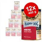 Varčno pakiranje Happy Dog Pur 12 x 400 g