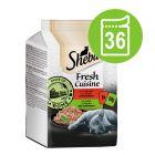 Varčno pakiranje Sheba Fresh Cuisine Taste of Rome 36 x 50 g