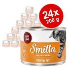 Varčno pakiranje Smilla perutninski lonček 24 x 200 g